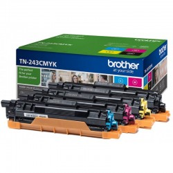 Pack 4 TN243 Toner Original