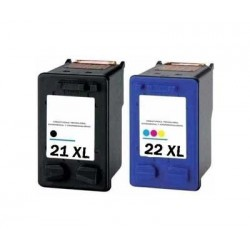 Pack  HP 21XL/HP22XL...